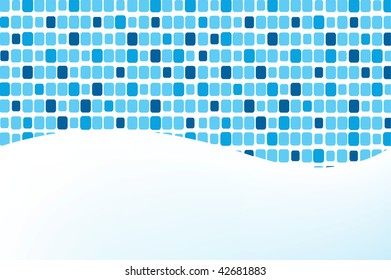 vector illustration of mosaic, you can use it like background