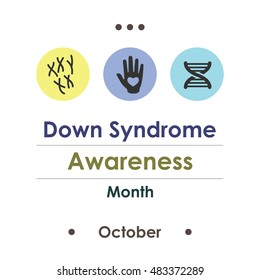 Down Syndrome Month Stock Illustrations Images Vectors Shutterstock