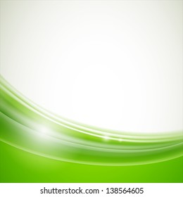 Vector Illustration of a Natural Green Background