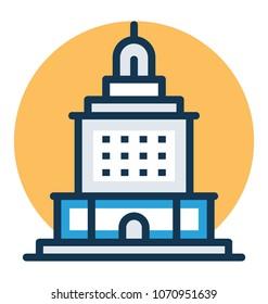 Vector illustration of Oakland historic Icon