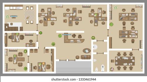 Floor Plan Meeting Room Images Stock Photos Vectors Shutterstock