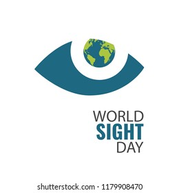 Vector Illustration on the theme World Sight Day
