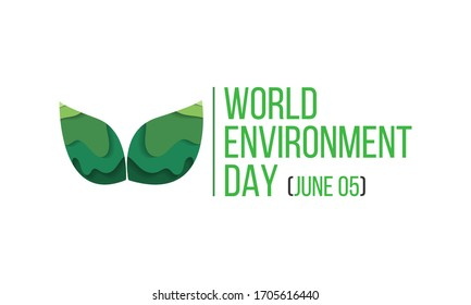 Vector illustration on the theme of World Environment day observed each year on June 5th worldwide.