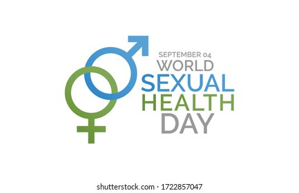 Vector illustration on the theme of World sexual health day observed each year on September 04th.