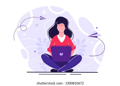 vector illustration on white background. the best estimate of performance. people leave feedback and comments, successful work is the highest score