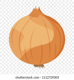 Vector illustration of a onion
