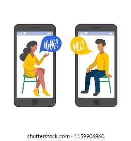 Online dating speech