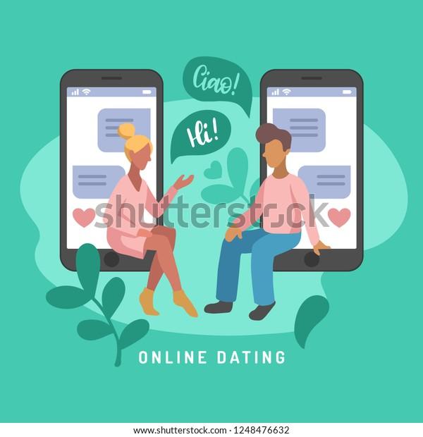 Chat met naaktmeisjes die smsen.