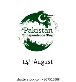 14 august images stock photos vectors shutterstock vector illustration pakistan independence day pakistan flag in trendy vintage style14 august design stopboris Choice Image