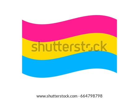 Pansexual flag filter