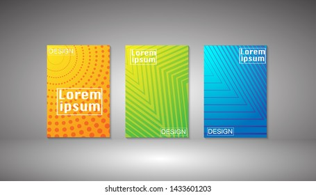 vector illustration paper art with letter Lorem Ipsum logo graphic design for background.