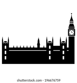 Vector illustration of Parliaments House