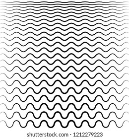 Vector Illustration of the pattern of black lines abstract background. EPS10.