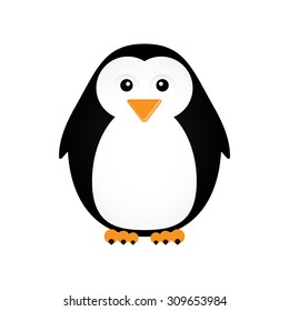 Vector illustration of a penguin