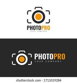 Vector illustration. Photo Studio Logo design.