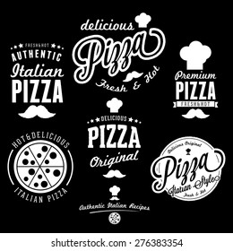 vector illustration Pizza Logo