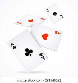 Playing Cards Isolated High Res Stock Images Shutterstock