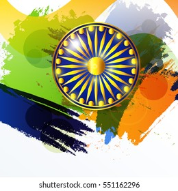 Vector illustration of a poster or banner for indian republic day.