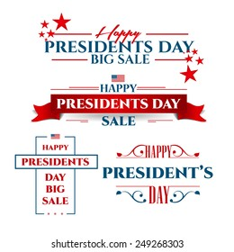 vector illustration President's Day a national holiday of the United States love of the homeland and traditions of its people