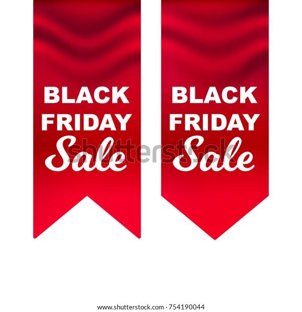 black friday deals red flag