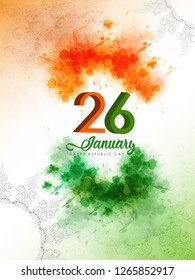 vector illustration of republic day celebration. 26 January