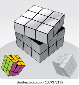 How to Solve Rubik Cube Images, Stock Photos & Vectors