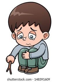 Boy Sad Cartoon High Res Stock Images Shutterstock