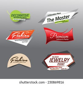 vector illustration Sale Discount Styled Website Banne