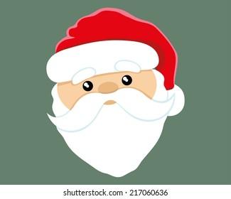 Vector illustration. Santa Claus.