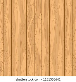 vector illustration seamless brown wooden floor texture plank background.abstract simple wood surface grain vertical panels pattern board wall.beige color vintage tone of veneer backdrop for design.