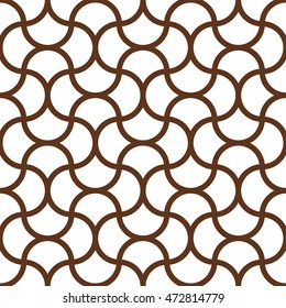 Vector illustration. Seamless oriental pattern. Endless texture for wallpaper