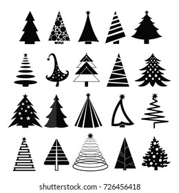 1000 Christmas Tree Silhouette Stock Images Photos Vectors