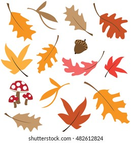 Fall Leaf Icon Images Stock Photos Vectors Shutterstock