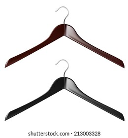 vector illustration. sewing tool. hanger for clothes on a white background