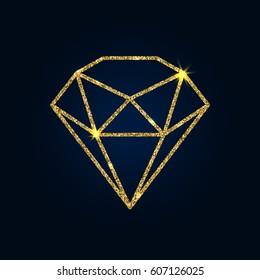 Imágenes Fotos De Stock Y Vectores Sobre Gold Diamond