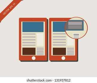 Vector Illustration of a smart phone