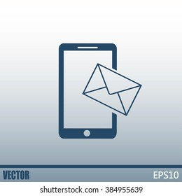 Vector illustration of a smartphone