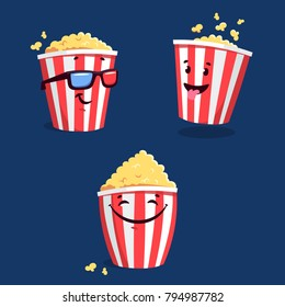 Popcorn Cartoon Images Stock Photos Vectors Shutterstock