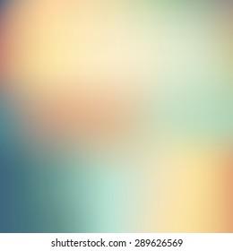 Vector illustration Smooth colorful background EPS 10. Blurred instagram filter