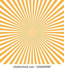 vector illustration solar rays background