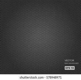 vector illustration of speaker grill texture