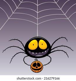 Vector illustration of Spider