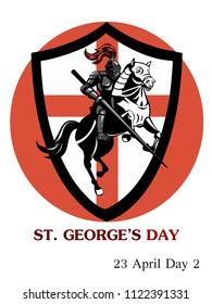 Vector Illustration of St George's Day