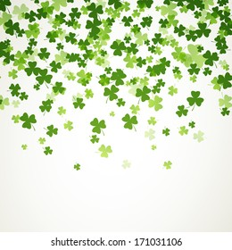 Vector Illustration of a St. Patrick's Day Background