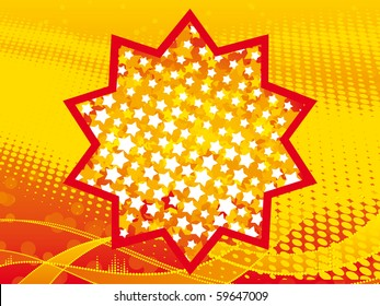 vector illustration of stars