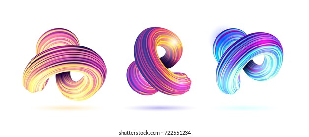 vector illustration. stylish set of backgrounds bright morphing out lines. design of hipster frames. element of graphics for decoration in posters, flyer, cards, covers. simple geometric shapes. set 2