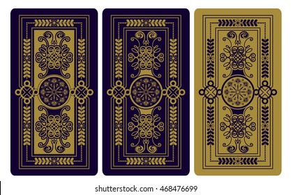 Vector illustration for Tarot cards