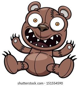 Vector illustration of Teddy bear