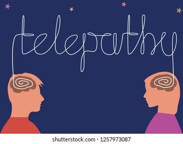 Telepatía Images, Stock Photos & Vectors | Shutterstock