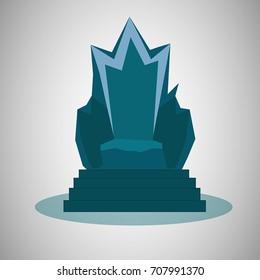 Vector illustration of thrones.